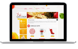 responsive web design giftshop #00024